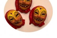 Broschenmasken
